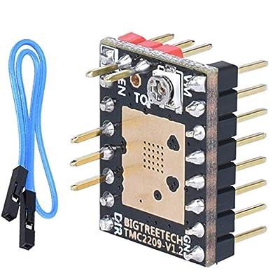 PoPprint TMC2209 V1.2 Stepper Motor Driver UART VS TMC2208 TMC2130 A4988 SKR V1.3 Pro Control Card 3D Printer Parts MINI E3
