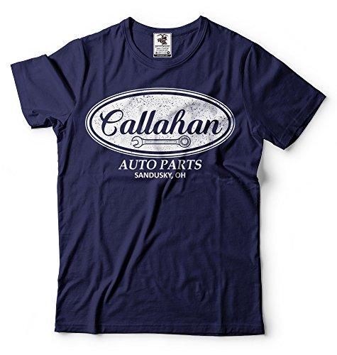 Silk Road Tees Mens Callahan Auto Parts Tee Shirt Movie Qoute Funny Shirt for Men XXXX-Large Navy