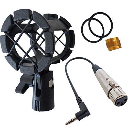 pcmh1araña de micrófono Keepdrum elástico soporte + MC de 025X J 0,3m...