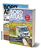 Bordatlas Stellplatzführer 2021: Deutschland und Europa: 2 Bände; Deutschland und Europa