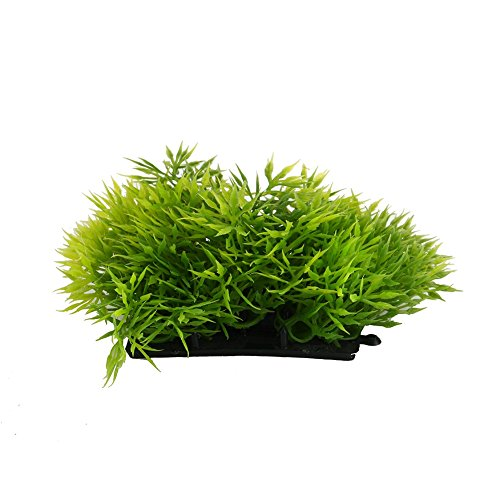 Impianto di plastica Artificiale Acquario d'Acqua Erba Fish Tank Ornament Subacquea Decoration Ornamento (Colore : Tender Green)