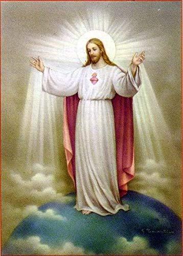 yanboVIP Rompecabezas 1000 Piezas para Adultos Figura Religiosa Dios jesús Rompecabezas de Madera Rompecabezas de Juguete para Adultos