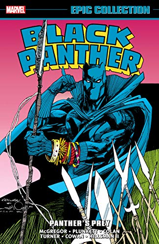 Black Panther Epic Collection: Panther's Prey (Black Panther: Panther's Prey (1991)) (English Edition)