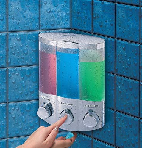 Aviva Trio Chrome Soap Dispenser by Aviva