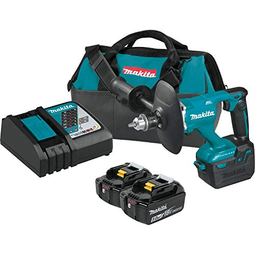 Makita XTU02T 18V LXT Lithium-Ion Brushless Cordless 1/2' Mixer Kit (5.0Ah)