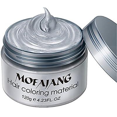 Spdoo Unisex Multi-Color Hair Dye Temporary Modeling Fashion DIY Hair Color Wax Mud Hair Dye Cream