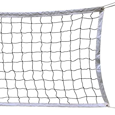 NKTM Outdoor Sports Classic Volleyball Net  (32 Feet x 3 Feet) Poles Not Included