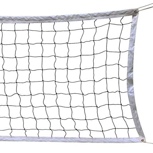 HOGAR AMO Red de Voleibol/Vóley/Volleyball con Cable de Acero Plegable,...