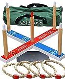 Jaques of London Family Quoits Set | Outdoor Spielzeug | Garten Spielzeug | Outdoor Spiele Für Kinder | Garten Kinder | Seit 1795