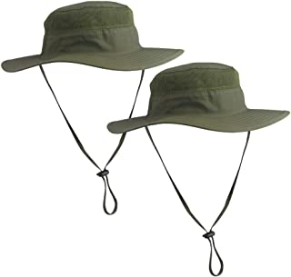 EJEAS Fishing Hat Summer Sun Hat UPF 50+ UV Protection Wide Brim Cap Hat for Men Women Packable Boonie Hat for Safari Fishing Beach Golf