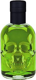 Absinth Skull Totenkopf grün 0,5L Testurteil SEHR GUT1,4 Maximal erlaubter Thujongehalt 35mg/L 55% Vol
