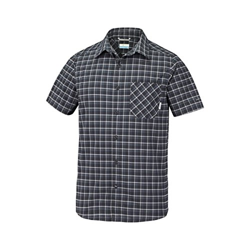 Columbia Triple Canyon™ Short Sleeve Shirt Yacht Plaid L