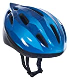 Trespass, Casco ciclismo Bambino Cranky, Blu (Blau - dunkelblau), 48-52 cm