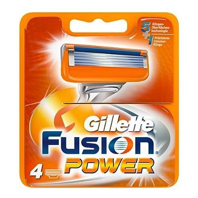 Gillette Fusion Power Razor Blades Box