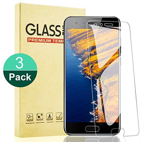 RIIMUHIR Panzerglas Schutzfolie für Huawei Honor 9 Lite 9H Gehärtetes Glass Folie mit Anti-Kratzer, Anti-Öl, Blasenfrei, HD-Klar Bildschirmschutzfolie für Huawei Honor 9 Lite [3 Stück]