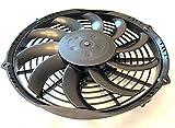 SPAL 30100435 10'' Low-Profile Fan Puller Curved Blades 12Volt 802 cfm VA11-AP7/C-57A