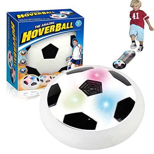 FTIK Juguete de Disco de Bola de colisión de fútbol con suspensión para niños de fútbol con Parachoques de Espuma de luz LED para Juegos en Interiores y Exteriores A2