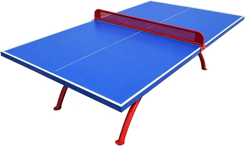 MYRCLMY Mesa De Ping Pong, Mesa De Tenis De Mesa Plegable, Equipo De Fitness De Gimnasia Profesional