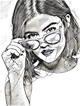 drawing lucy hale
