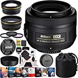 Nikon AF-S DX Nikkor 35mm F/1.8G Lens Bundle with Photo and Video Professional Editing Suite, Cleaning Kit for...