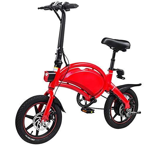 YDBET Plegable Smart Control App Bicicleta eléctrica Ciudad E-Bici 10 Ah Batería...