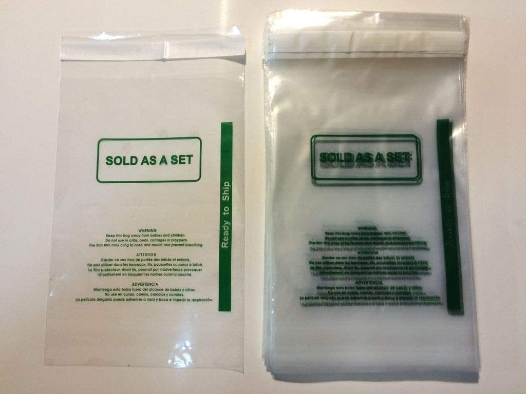 100 Pcs 8x10 PS Permanent Self mil Bags Self-Sea New product Poly 1.5 Online limited product Seal