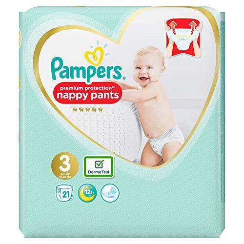 Pampers 81680037 Baby-Dry Pants windelhose, weiß