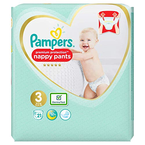 Pampers 81680037 Baby-Dry Pants windelhose, weiß