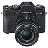 Fujifilm X-T30 Mirrorless Digital Camera Kit (Black) with XF 18-55mm F2.8-4 LM OIS Lens (Black)
