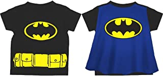Batman Logo Caped T-Shirt