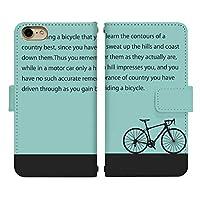 iPhone X ベルト有り 手帳型 スマホケース スマホカバー di725(A) 自転車 ロード バイク 格言 文字 メッセージ アイフォンX アイフォンテン アイフォン10 スマートフォン スマートホン 携帯 ケース アイホンX アイホンテン アイホン10 手帳 ダイアリー フリップ スマフォ カバー