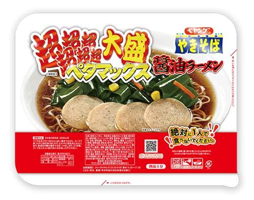 【販路限定品】まるか商事 ペヤング 超超超超超超大盛ペタマックス 醤油ラーメン 892g×1個