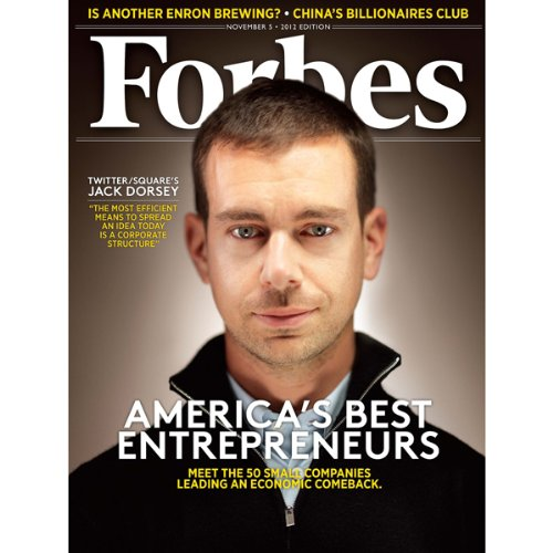 Forbes, October 22, 2012 audiobook cover art