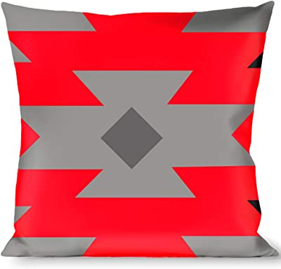 Buckle Down Italy Flags Throw Pillow Multicolor