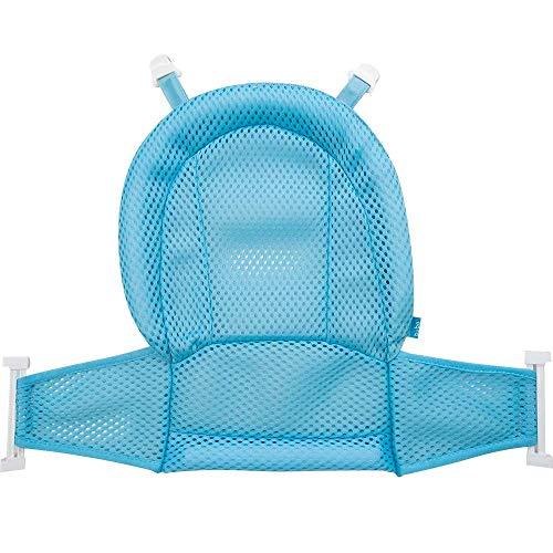 Rede De Protecao Para Banho Baby - Azul, Buba, Azul