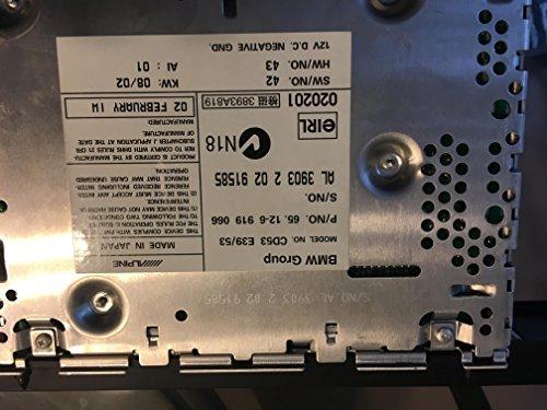 V BMW e39 e53 CD player X5 3.0i 4.4i 4.6is 525i 530i 540i M5 65126921960