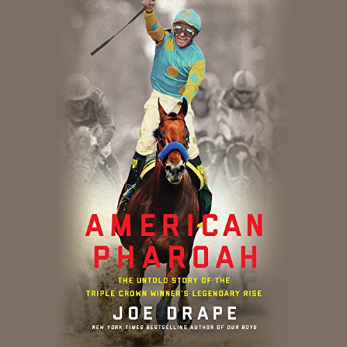American Pharoah audiobook cover art