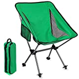 Backpacking Chair Ultralight Folding Camping Chair 300 Lbs Capacity Portable Compact Chair for Adults Outdoor Camp, Travel, Beach, Picnic, Hiking