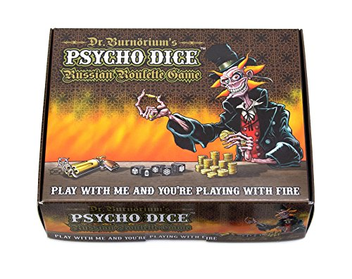 Psycho Dice Russian Roulette Game Chili Chocolate Game