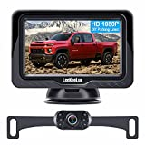 LeeKooLuu LK3 HD 1080P Backup Camera with Monitor Kit OEM Driving Hitch Rear/Front View Observation System for Cars,Trucks,Vans,Campers Waterproof Super Night Vision DIY Grid Lines