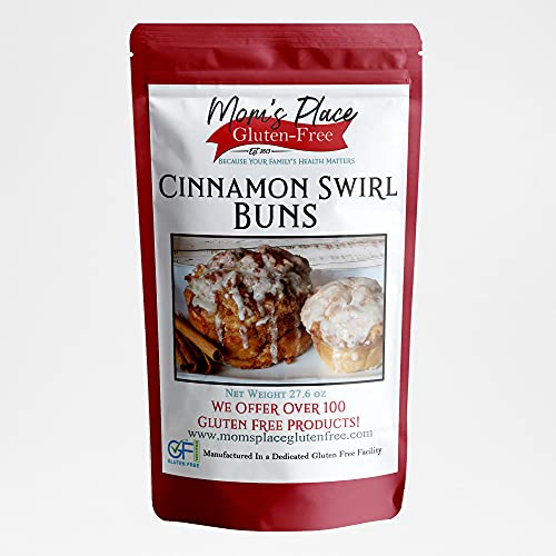 Gluten Free Cinnamon Swirl Buns Mix