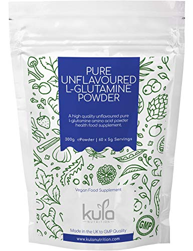 Kula Nutrition Poudre Pure L Glutamine - 300g (60...