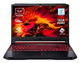 "Foto Acer Nitro 5 AN515-54-72FF Notebook Gaming, Processore Intel Core i7-9750H, RAM 16 GB DDR4, 1024 GB PCIe NVMe SSD, Display 15.6"" FHD IPS 60 Hz LCD, NVIDIA GeForce GTX 1650 4GB GDDR5, Windows 10 Home"