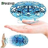 Baikewei Mini Drone, RC UFO Helicóptero, Juguete Volador Interactivo...
