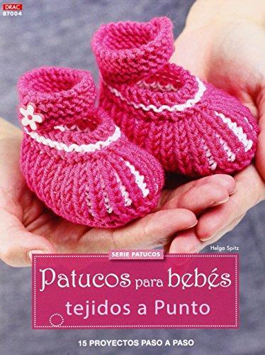 Crea Con Patrones. Patucos Para Bebés Tejidos A Punto- Número 4