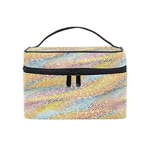 Bolsas de Maquillaje de Viaje con Cremallera Anillo de Arte Fragmento Bolsa de cosméticos Bolsas de Aseo Bolsas de Tren Bolsas de Almacenamiento CBG-928