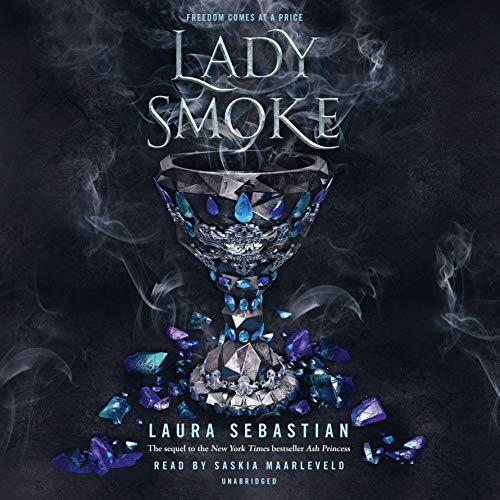 Lady Smoke audiobook cover art