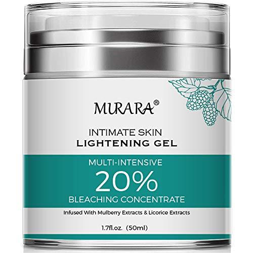 Intimate Skin Whitening Cream For Knees, Lightening Cream for Armpits, Body, Neck, Elbows, Sensitive & Private Areas, Whitens, Nourishes, Brightens & Restores Underarm Skin -1.7 Oz (1pack)