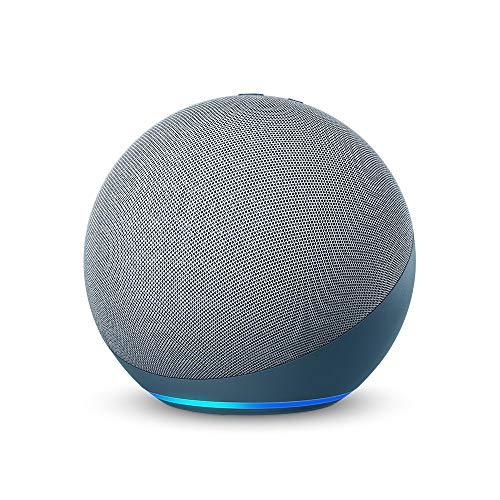 Echo (エコー) 第4世代 - スマートスピーカーwith Alexa - プレミアムサウンド&スマートホームハブ、トワイ...
