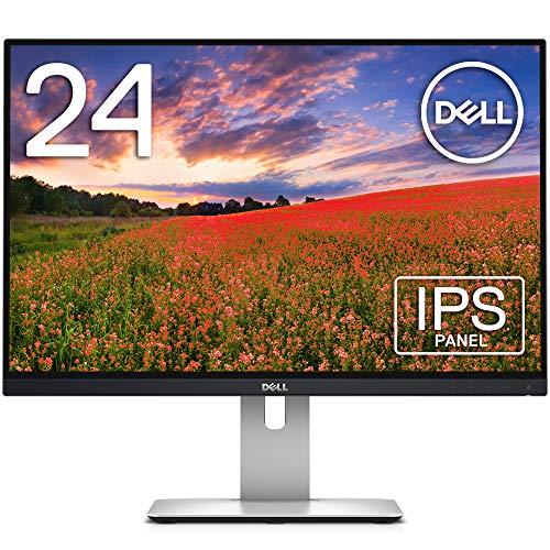 Dell モニター 24インチ U2415(3年間無輝点交換保証/sRGB 99%/広視野角/フレームレス/WUXGA/IPS非光沢/フリッカーフリー/DP,mDP,HDMIx2/高さ調整/回転)